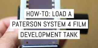 Cover - How-to - Load a Paterson System 4 film development tank