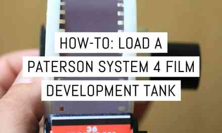 How-to: Load a Paterson System 4 film development tank – by Malcolm Myers