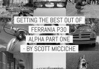 Film tests - Getting the best out of Ferrania P30 Alpha part 1