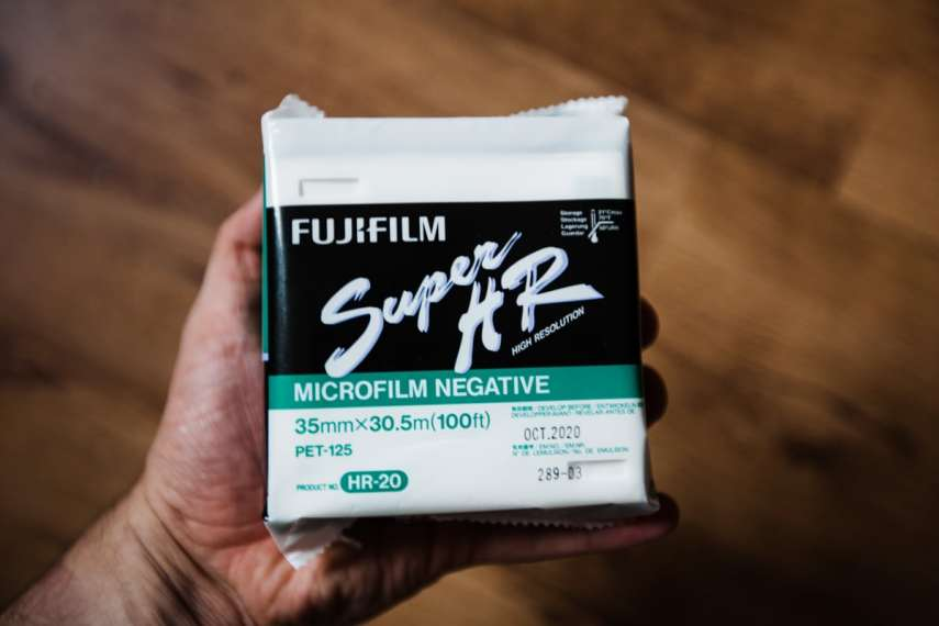 Fuji Super HR-20 Microfilm Negative (100ft)