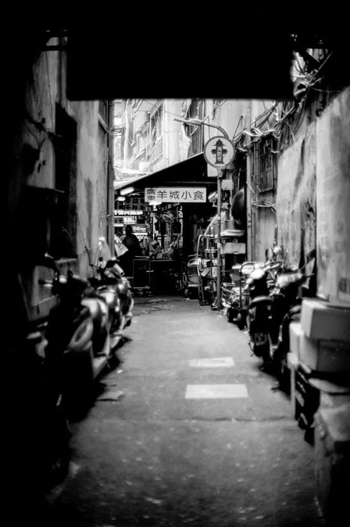 Journey's end - Shot on Efke KB25 at EI 25. Black and white negative film in 35mm format.