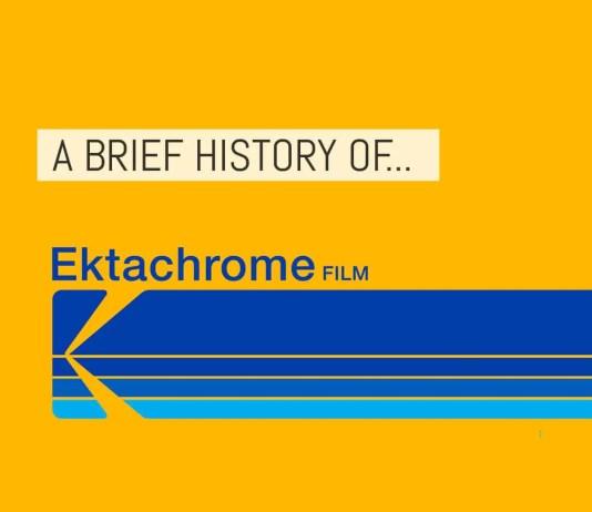 Cover - A brief history of Kodak EKTACHROME