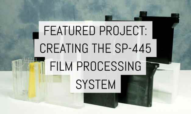 Featured project: creating the SP-445 film processing system