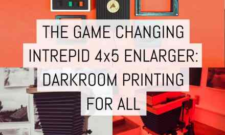 The game changing Intrepid 4×5 Enlarger: darkroom printing for all