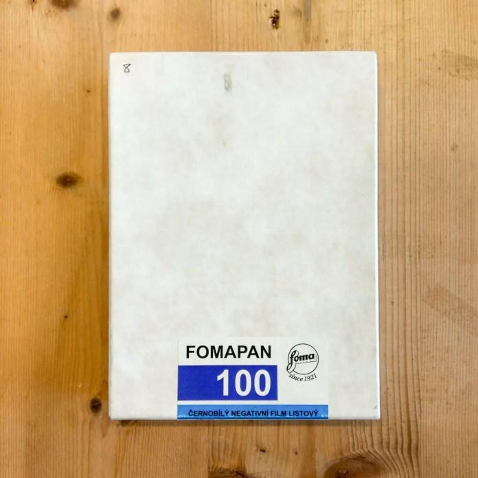 Fomapan Classic 100 4x5