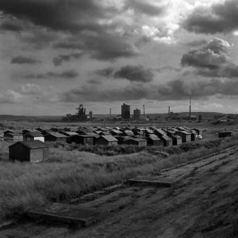 Green huts, blast furnace - Keith Moss