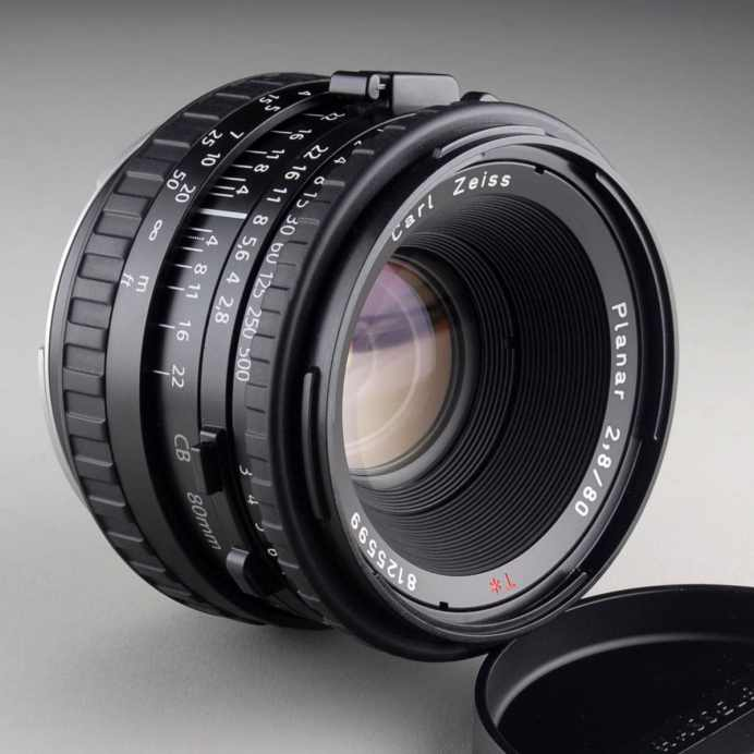 Hasselblad Planar CB 80mm f:2.8 front (Seller's images) - Ted Smith