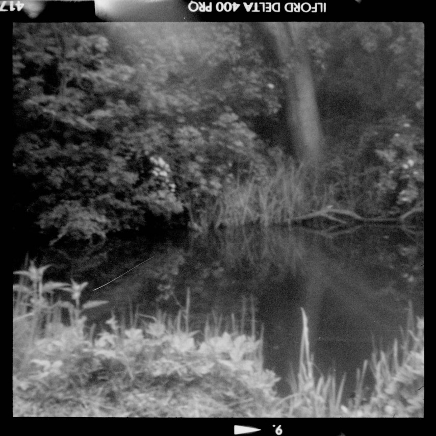 ILFORD Delta 400 Professional - River