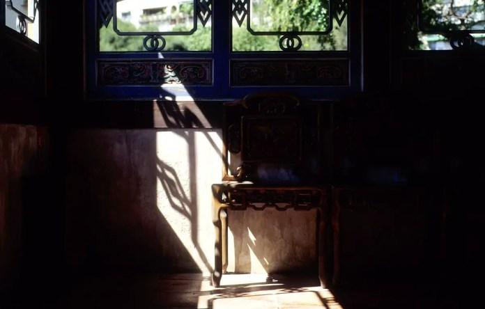 Morning light - Shot on new Kodak EKTACHROME 100 (E100) at EI 200. Color reversal (slide) film in 35mm format. Push processed one stop.