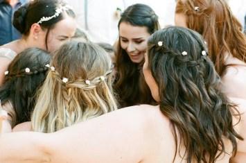 The bride and bridesmaids - Aidan and Becca's wedding - Kodak Portra 400 - Ted Smith 04