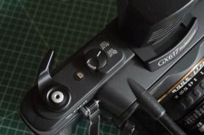 Fuji Panorama GX617 Camera Review - 120/220 film type selector