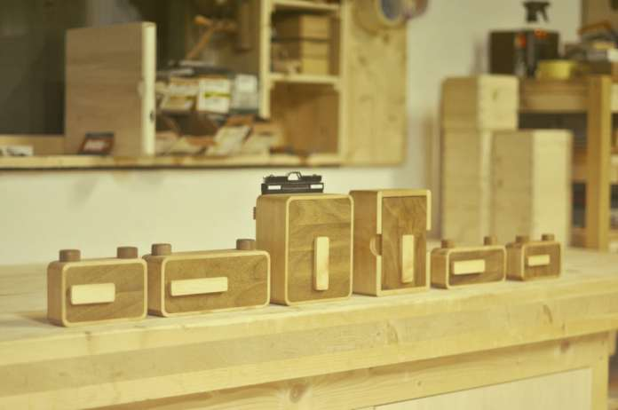 The first line of ONDU Pinhole cameras, April 2013