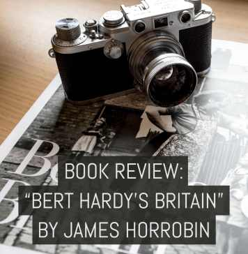 "Cover - Book review- ""Bert Hardy's Britain"" - by James Horrobin"