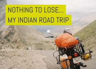 Cover - Nothing to lose - my Indian road trip - by Bernard LimCover - Nothing to lose - my Indian road trip - by Bernard Lim