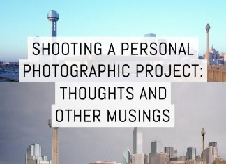 Cover - Shooting a (personal) photographic project- thoughts and other musings