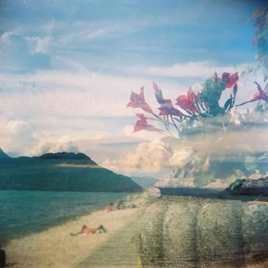 Lost in a Dream, Lac du Bourget, France - Lomography Lubitel 2, Fujifilm Pro 400H