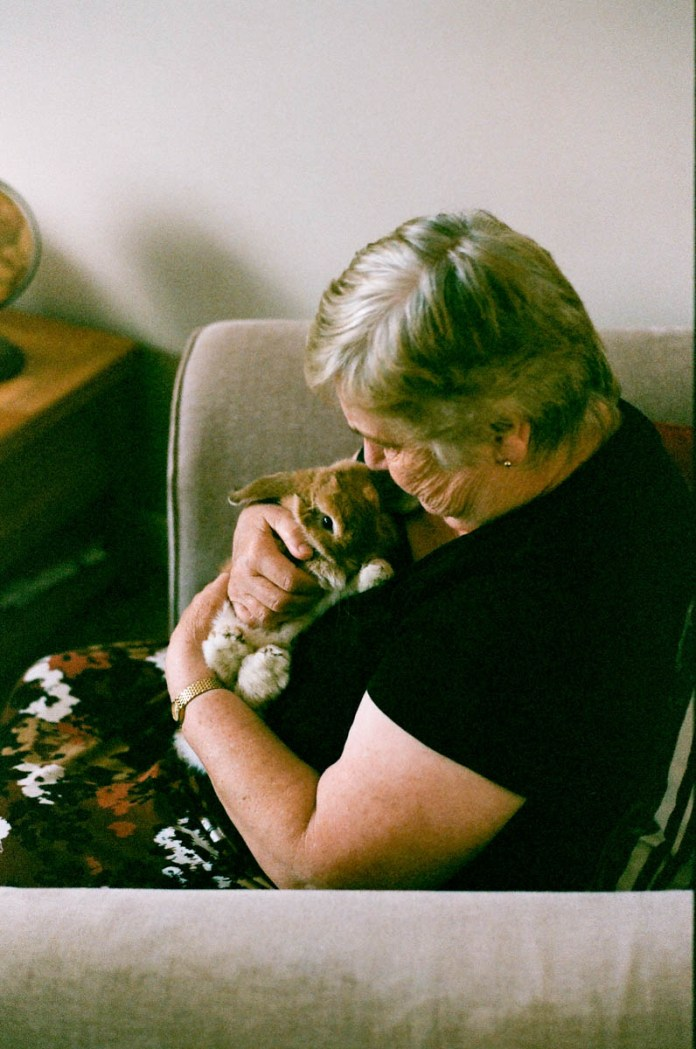 Nan with Ulysses - Fuji Fujicolor 200