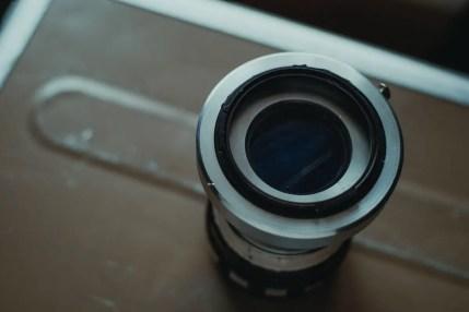 Creating the GX-Pan - Lens mount