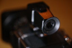 Hasselblad 903 SWC and optical viewfinder (rear)