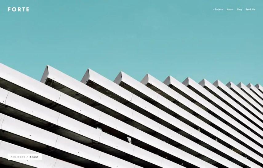 Squarespace - Fotre Theme
