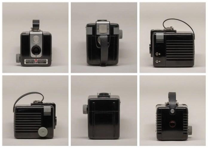 Kodak Brownie Hawkeye Flash Model - From all sides