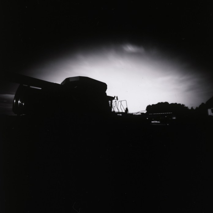 8x10 pinhole on ILFORD MGIV RC paper.