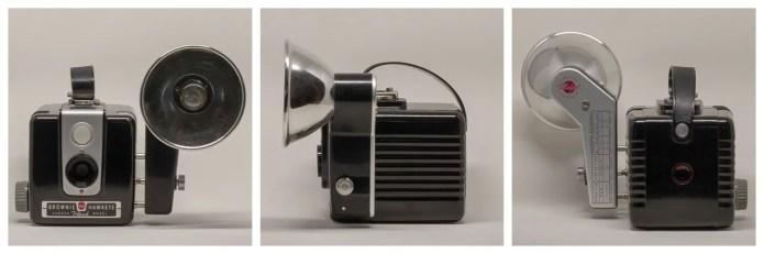 Hawkeye Flash Model with Kodalite Midget Flasholder attached