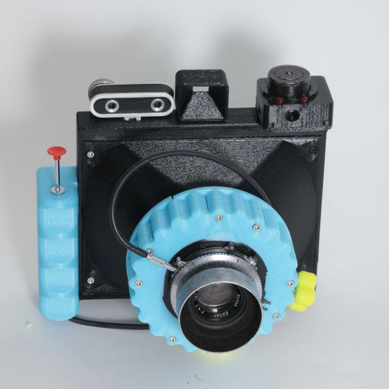 CAMERADACTYL OG 4x5 in blue 1