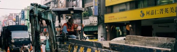 Downtime - Shot onFuji Superia X-TRA 400at EI 400. Color negative film in 35mm format film. Fuji GW690III + EBC Fujinon 90mm f/3.5.