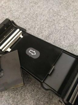 Fuji GW690III - Film door pressure plate (removed)