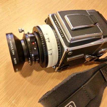 Hasselblad 2000FCW - Schneider Super Angulon 90mm f8 MC