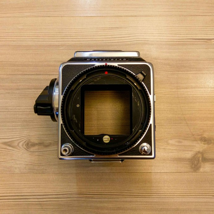 Hasselblad 2000FCW body - Front (open)