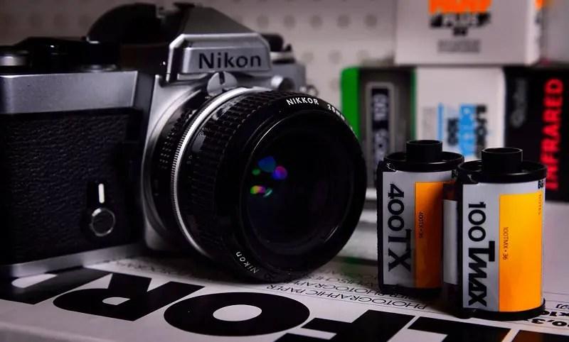 Nikon FE, Kodak Tri-X 400 and T-MAX 100