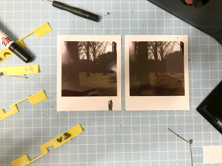 Outside shots with the square format. Chemistry still on the rollers from my failed experiments!