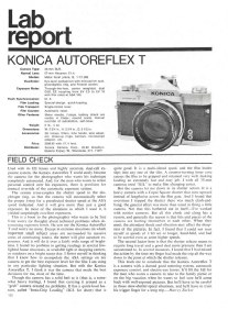 Konica Autoreflex T