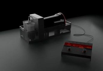 Concept render - Film processor