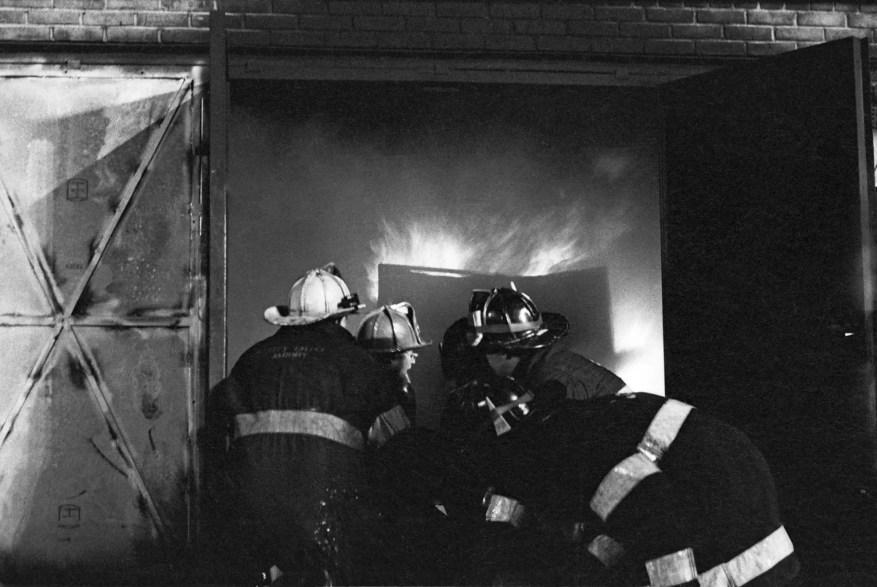 Nikon FG-20 + Fire school