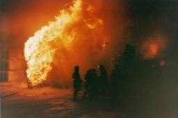 Nikon FG-20 - Tire Store Fire