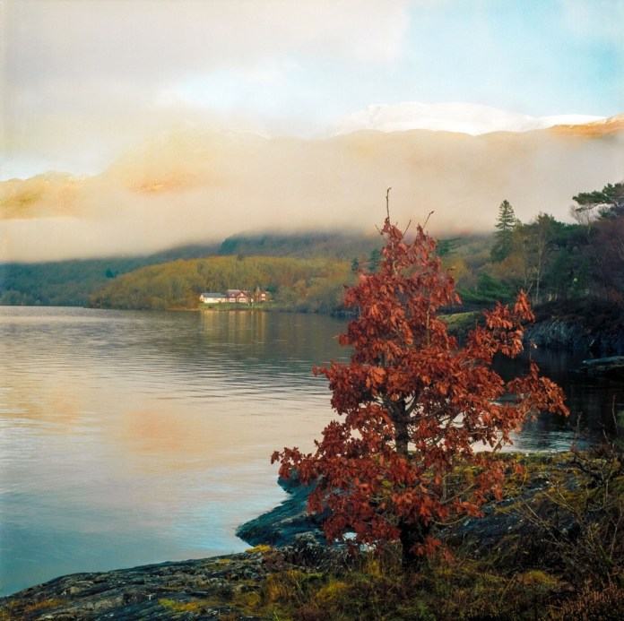 Ben Lomond; The colours and light here I see as quintessentially Kodak Ektar 100.