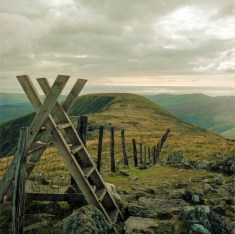 Cadair Idris; Green or yellow casts give a nostalgic feeling not unlike in Romantic or Victorian art.
