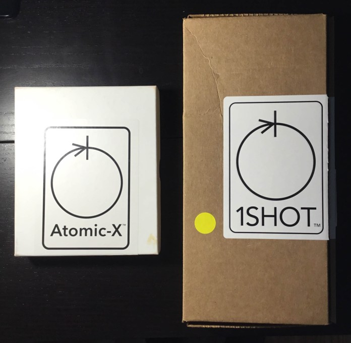 Atomic X 4x5 film boxes