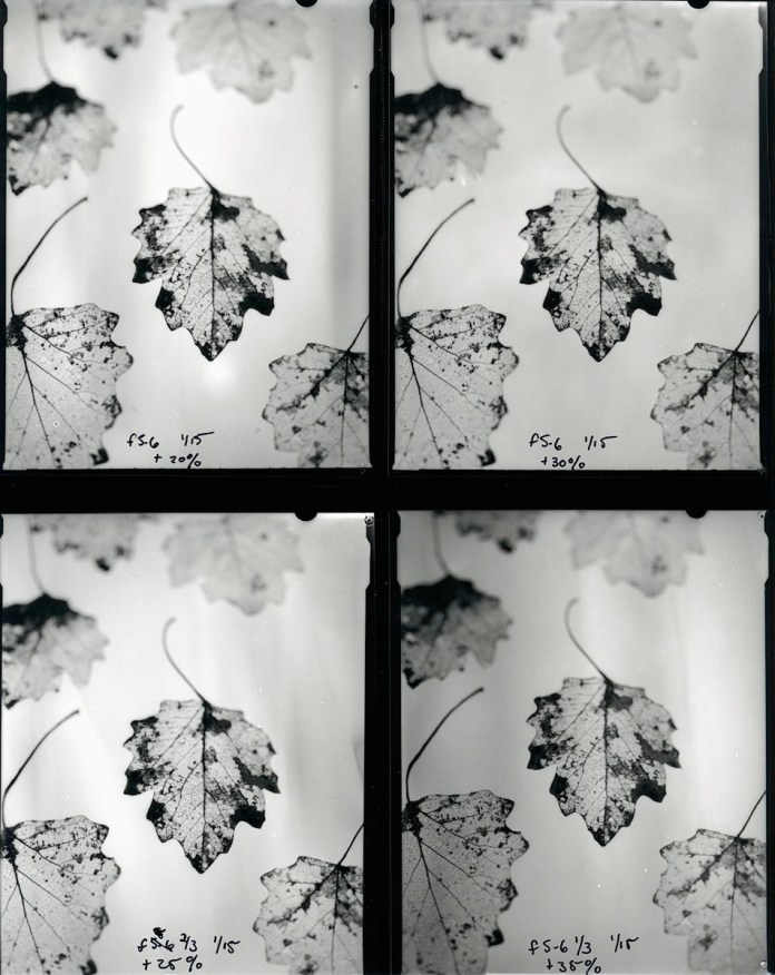 Second contact sheet