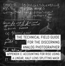 Cover - Appendix C of the Technical Field Guide for the Discerning Analog Photographer