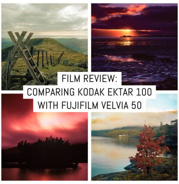 Cover - Film review- Comparing Kodak Ektar 100 to Fujifilm Velvia 50