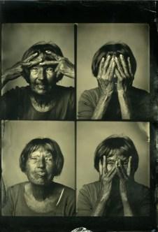 Markus Hofstaetter - Wet plate passport photography