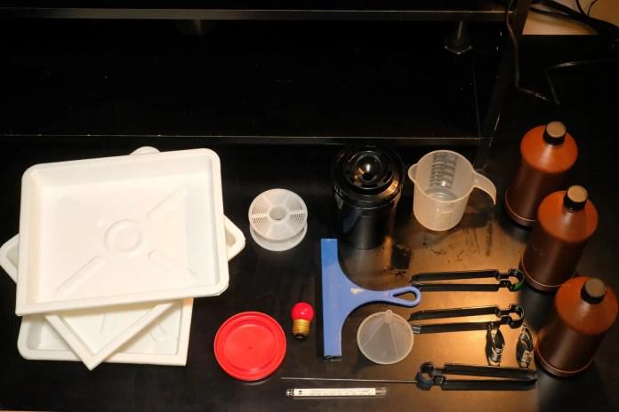 Budget darkroom - Beseler darkroom outfit