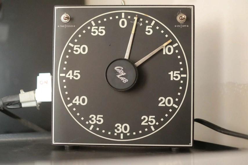 Budget darkroom - GraLab 300 Timer