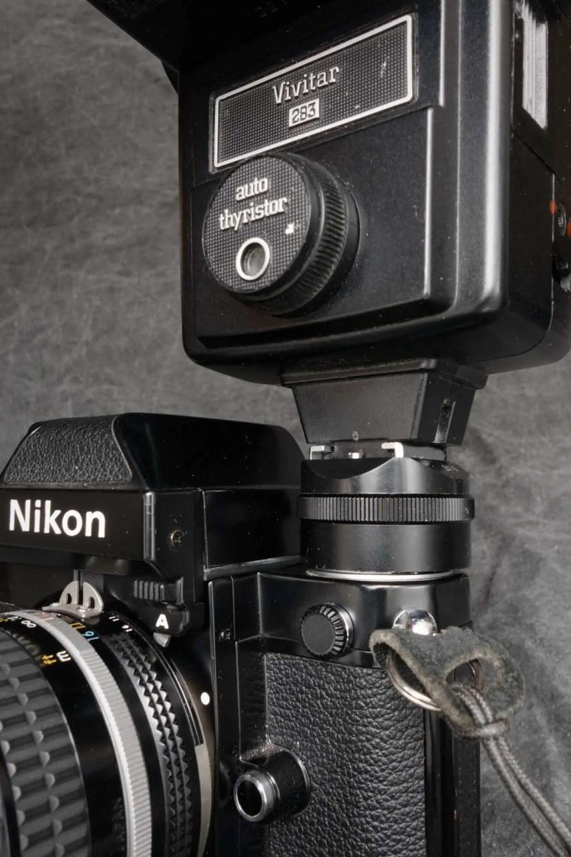 Nikon F2 flash shoe