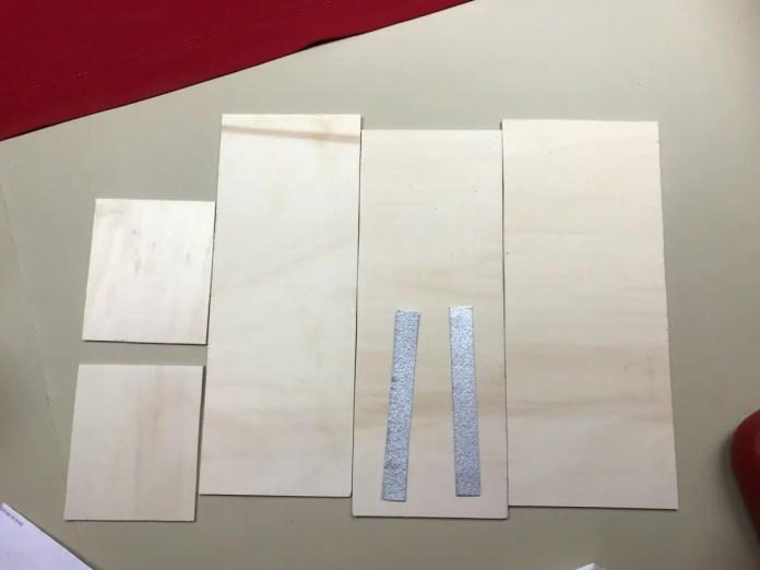 Shutter box (parts)