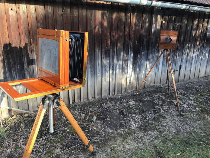 The first stereo wetplate (alt angle)